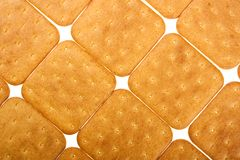 Cookie of the cracker Royalty Free Stock Images
