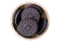 Cookie and cream Stock Image