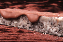 Cookie crumble fudge Royalty Free Stock Photo