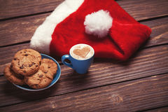 Cookie and cup Royalty Free Stock Photos