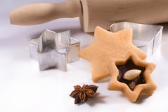 Cookie-cutter forms Stock Photos