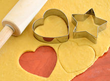 Cookie cutter forms Stock Image