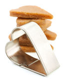 Cookie Cutter - Heart Stock Photo