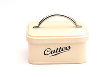 Cookie cutter tin Stock Image