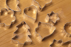 Cookie cutters Royalty Free Stock Photo