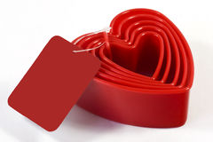 heart cookie cutters Stock Photo
