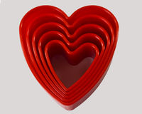heart cookie cutters Stock Images