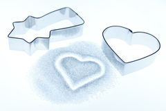 Cookie cutters Royalty Free Stock Images