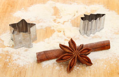 Cookie cutters Stock Images