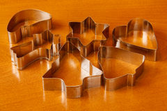 Cookie cutters Royalty Free Stock Photos