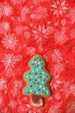 Cookie da árvore do ano novo Imagens de Stock
