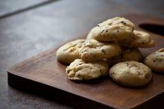Cookie da baunilha caseiro imagem de stock