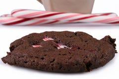 Cookie da pastilha de hortelã Foto de Stock Royalty Free