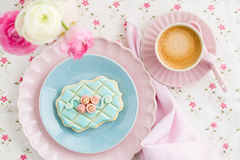 Cookie de açúcar Imagens de Stock Royalty Free