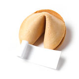 Cookie de fortuna Imagens de Stock