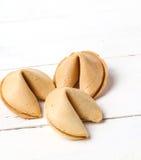 Cookie de fortuna Imagens de Stock Royalty Free