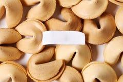 Cookie de fortuna Foto de Stock
