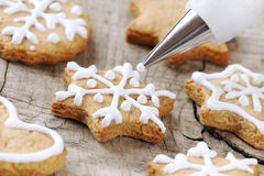 Cookie decorating Stock Photos
