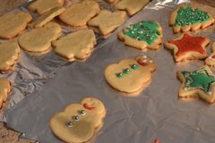 Cookie Decorating Stock Images