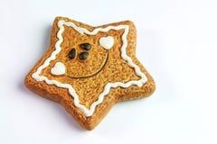 Cookie do pão-de-espécie imagem de stock