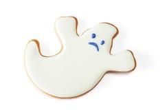 Cookie do pão-de-espécie de Dia das Bruxas imagem de stock