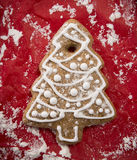 Cookie do pão-de-espécie do Natal Imagens de Stock Royalty Free