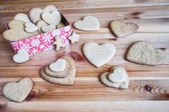 Cookie do pão-de-espécie do Natal Foto de Stock