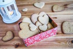 Cookie do pão-de-espécie do Natal Fotografia de Stock Royalty Free