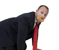 cookie dog man Obrazy Stock