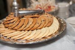 Cookie dos pedaços de chocolate Fotografia de Stock