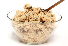Cookie Dough Bowl Royalty Free Stock Images