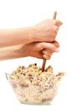 Cookie Dough Mix royalty free stock photos