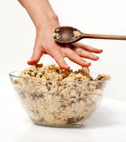 Cookie Dough Snack Stock Photo