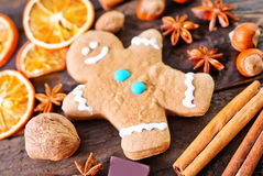 Cookie e especiaria do aroma fotos de stock