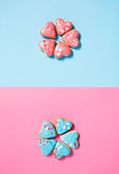 Cookie flowers Royalty Free Stock Image