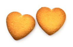 Cookie in the form of broken heart. Royalty Free Stock Photography