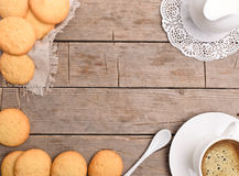 Cookie. Frame. Stock Images