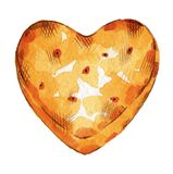 Cookie friável ilustração do vetor
