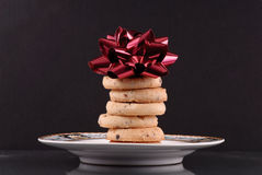 Cookie Gift Royalty Free Stock Photos