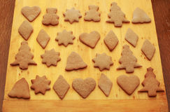 Cookie ginger breads Royalty Free Stock Images