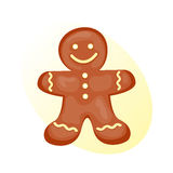 Cookie gingerbread homemade breakfast bake cakes  and tasty snack biscuit pastry delicious sweet dessert bakery. Eating vector illustration. Gourmet indulgence Royalty Free Stock Image