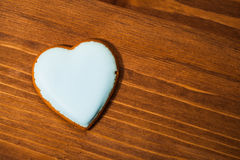 Cookie heart Stock Photography