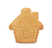 Cookie 'house', isolated Royalty Free Stock Photography