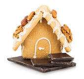 Cookie house Stock Images