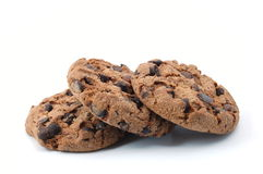 Cookie isolated on white background Royalty Free Stock Photos