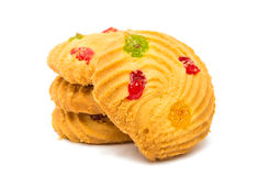 Cookie isolated Stock Photography