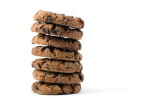 Cookie isolated on white background Royalty Free Stock Images