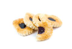 Cookie with jam Royalty Free Stock Image
