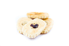 Cookie with jam Stock Photography