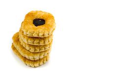 Cookie with jam Royalty Free Stock Photos
